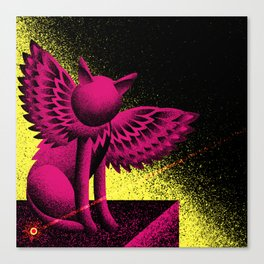 Beam (Electric Catnip) Canvas Print