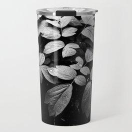 Monochrome Droplet Travel Mug