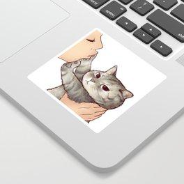 cat : hmmmmm! Sticker