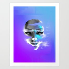 Gliturr Eyeliner No.1 Art Print