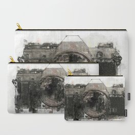 retro camera illustration / painting /drawing  2 Carry-All Pouch