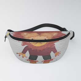 Lion Jungle Friends Baby Animal Water Color Fanny Pack