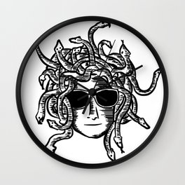 Medusa head Wall Clock