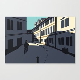 Maltézské Square Canvas Print