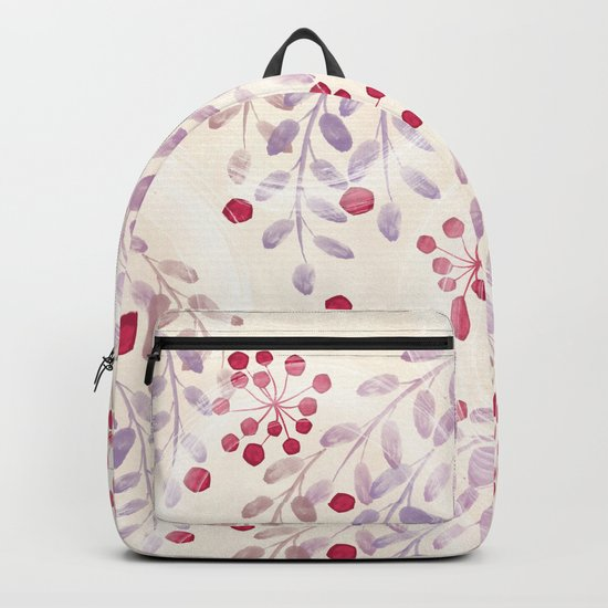 Delicate sprigs 2 Backpack