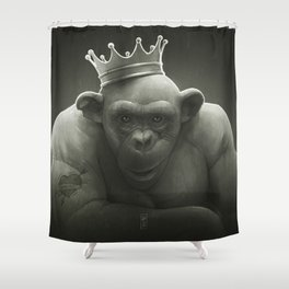 King Shower Curtain