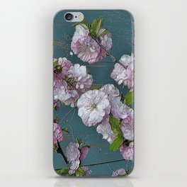Vintage Pink Blossoms iPhone Skin