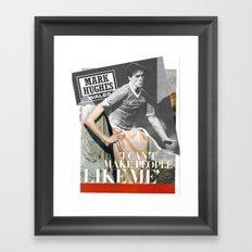 Football Fashion #5 Framed Art Print