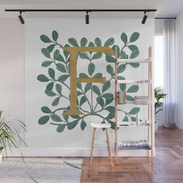 Forest Letter F Lite 2020 Wall Mural