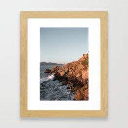 Lands End Golden Gate Framed Art Print