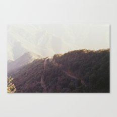 death of the wilderness. Canvas Print