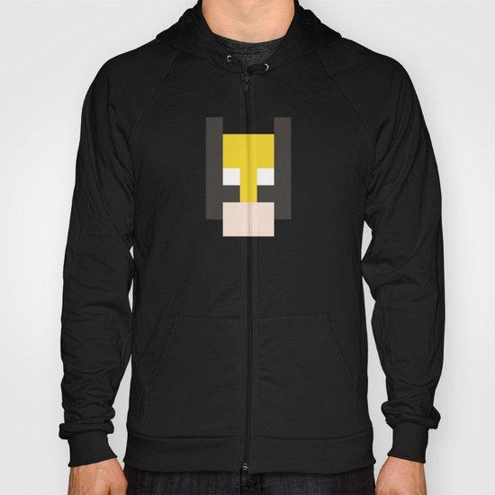 hero pixel yellow black flesh Hoody