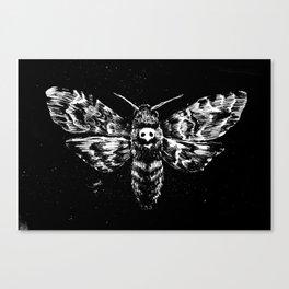 Deaths Head Canvas Print