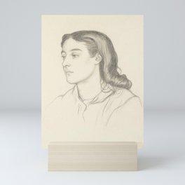 Dante Gabriel Rossetti Miss Robertson (Mrs Fernandez) c.1866 Mini Art Print