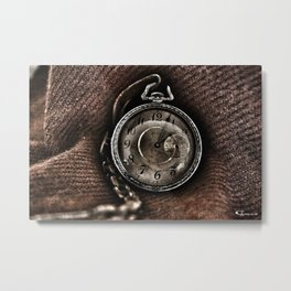 The Essence of Time Metal Print