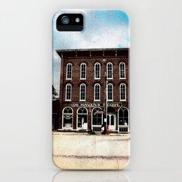 De Haven's Store iPhone Case