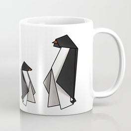 Origami Penguins Coffee Mug