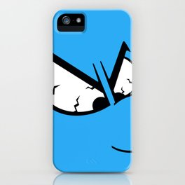 Angry Smurf iPhone Case