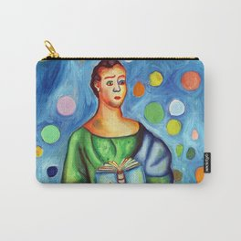 Sario Painter, a juggler poet. Carry-All Pouch