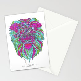 The Mindfulness Series: The Last Lion Stationery Cards