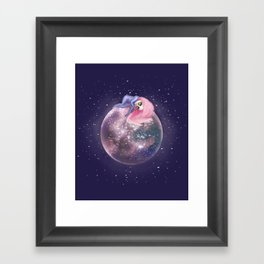 Lost in a Space / Callistori Framed Art Print