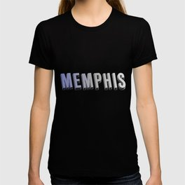 Memphis lettering | Tennessee USA state homeland T-shirt