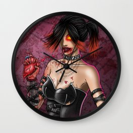 Anti Valentine Wall Clock