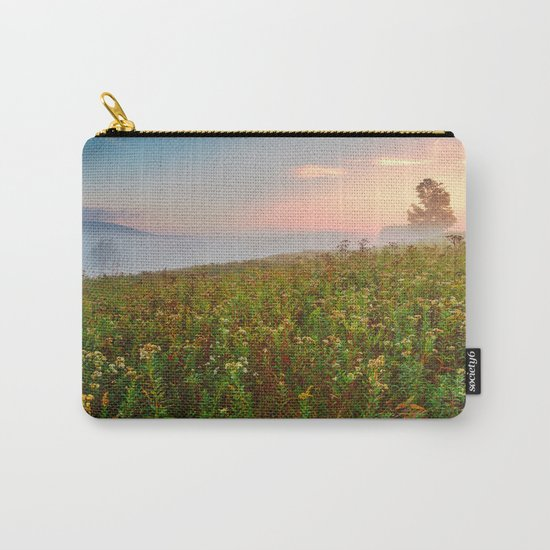 Misty Canaan Valley Sunrise Carry-All Pouch