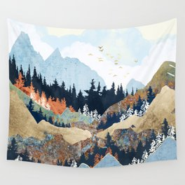 Spring Flight Wall Tapestry