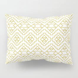 Boho Campfire - Gold Pillow Sham