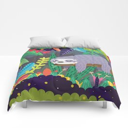 Sloth in nature Comforters