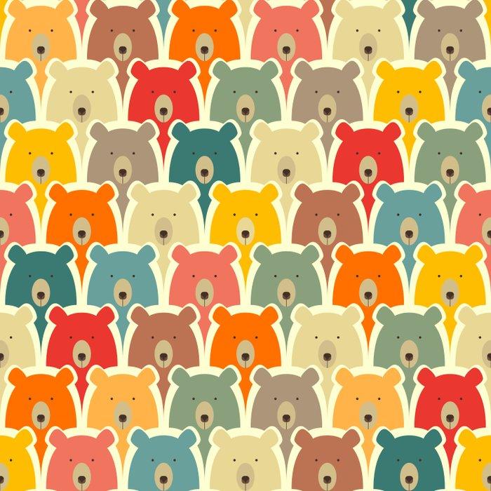 Bears cartoon pattern Duvet Cover