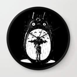 A Noir Neighbour Wall Clock
