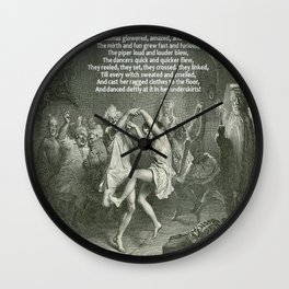 Tam O'Shanter Burns Night Celebrations Wall Clock