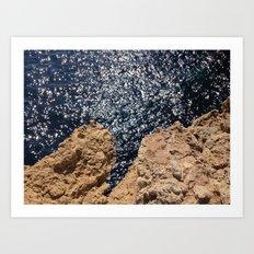 Sparkling Planet  Art Print