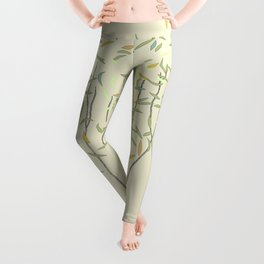 Happy Trees with Rustling Leaves Leggings