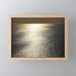 Golden Silence Framed Mini Art Print