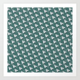 Paper Airplane 4 Art Print