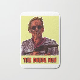 The Omega Man Bath Mat