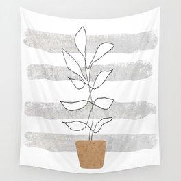 Scandi Plant Wall Tapestry