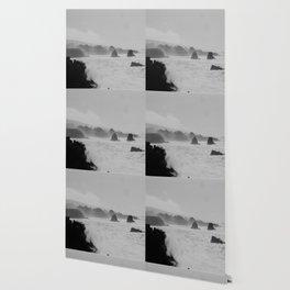 Misty Cliffs of the Soul Wallpaper