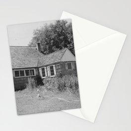 Garage looking SW. Parcel 126, W.H. Whiteley. Todd Shipbuilding, Seattle, WA. NARA 298521 Stationery Cards