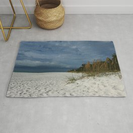 Winter Beauty at The Beachside Rug