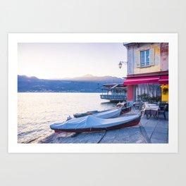 lake Orta San Giulio Art Print