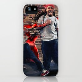 Until I Pass Out (Hard In The Paint) iPhone Case