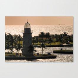Boca Chita Lighthouse Canvas Print