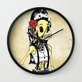 La Chola Wall Clock