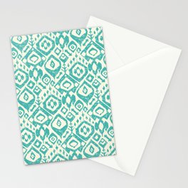 lezat turquoise Stationery Cards