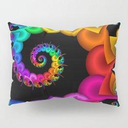 the perky spiral -1- Pillow Sham