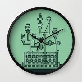 Planticular Robotic Wall Clock